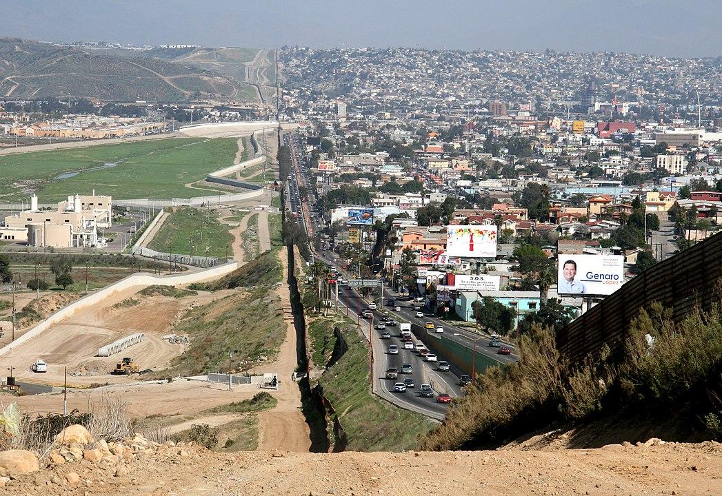 Frontière Mexique / Etats-Unis à Tijuana / San Diego.